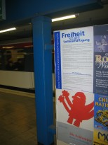 Hamburg, U-Bahnstation Christuskirche